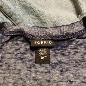 torrid Tops - Torrid 00 hippie tshirt